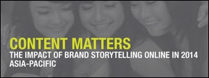 Content Matters: The Impact of Brand Storytelling Online in 2014