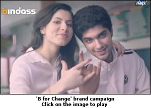 'B for Change' brand campaign