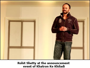 Rohit Shetty at the announcement event of Khatron Ke Khiladi