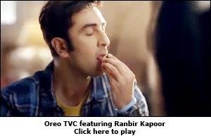 Oreo TVC featuring Ranbir Kapoor