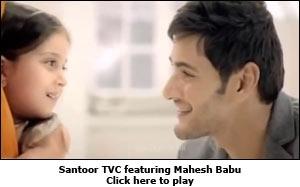 Santoor TVC featuring Mahesh Babu