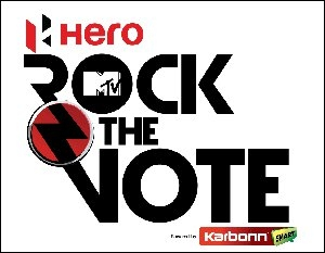 MTV Rock The Vote logo