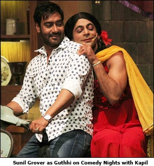 Sunil Grover as Guthhi on Comedy Nights with Kapil