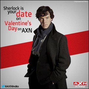 Sherlock on Valentine's Day