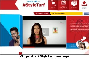 Philips MTV #Styleturf campaign