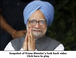 Snapshot of Prime Minister's look back video