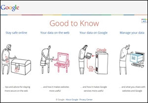 Google Good to Know website