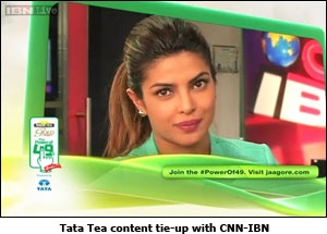 Tata Tea content tie-up with CNN-IBN