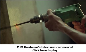 MTV Hardwear's television commercial