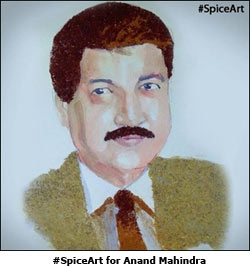 #SpiceArt for Anand Mahindra