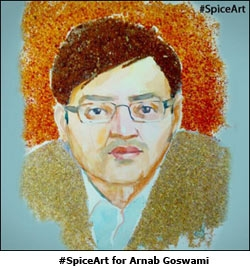 #SpiceArt for Arnab Goswami
