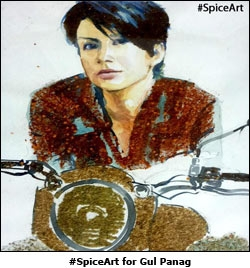 #SpiceArt for Gul Panag