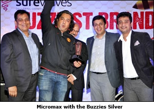 Micromax with the Buzzies Silver