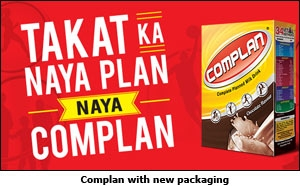 Complan with new packaging
