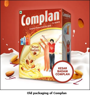 Old packaging of Complan