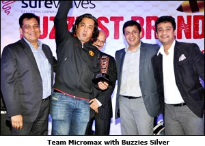 Team Micromax with Buzzies Silver