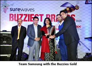 Team Samsung with the Buzzies Gold