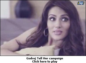 Godrej Tell Her campaign