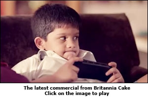The latest commercial from Britannia Cake