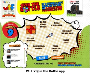 WTF VSpin the Bottle app
