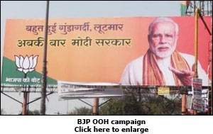 BJP OOH campaign