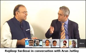 Rajdeep Sardesai in conversation with Arun Jaitley