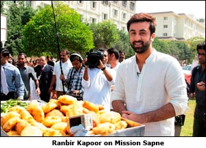 Ranbir Kapoor on Mission Sapne