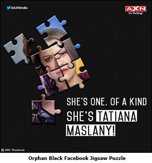 Orphan Black Facebook Jigsaw Puzzle