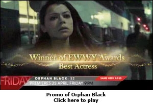 Promo of Orphan Black