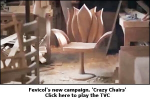 Fevicol's new campaign, 'Crazy Chairs'