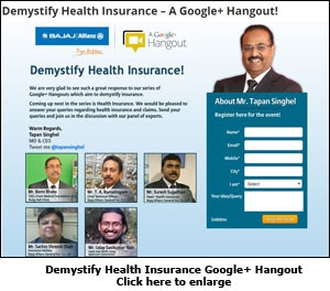 Demystify Health Insurance Google+ Hangout