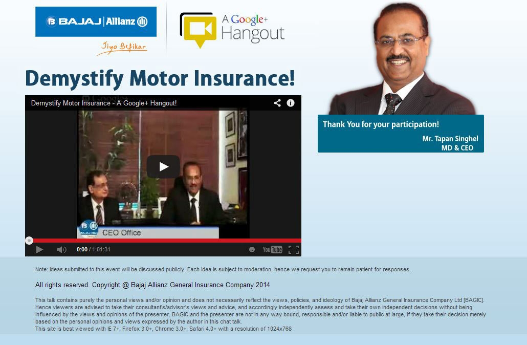 Bajaj Allianz Launches Awareness Drive