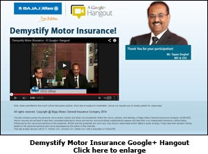 Demystify Motor Insurance Google+ Hangout