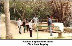 Racism Experiment video