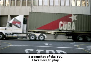 Screenshot of the TVC