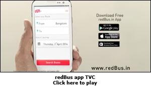 redBus app TVC