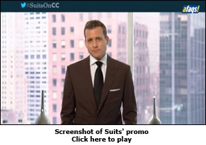 Screenshot of Suits' promo