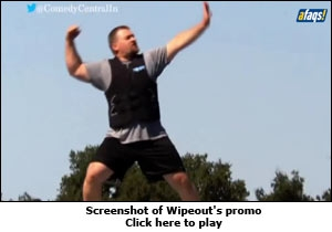 Screenshot of Wipeout's promo