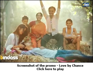 Screenshot of the promo - Love by Chance