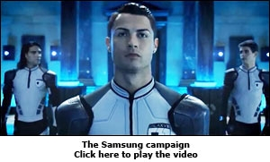 The Samsung campaign