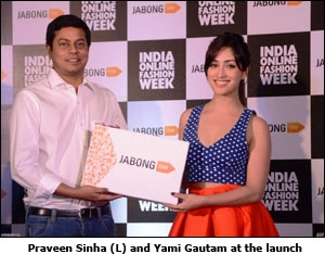 Praveen Sinha (L) and Yami Gautam at the launch