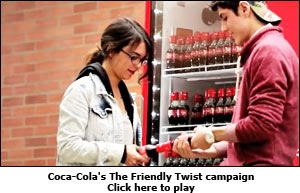 Coca-Cola's The Friendly Twist campaign