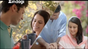A screenshot of the Zindagi campaign from ZEEL
