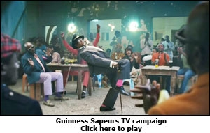 Guinness Sapeurs TV campaign