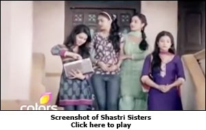 Screenshot of Shastri Sisters