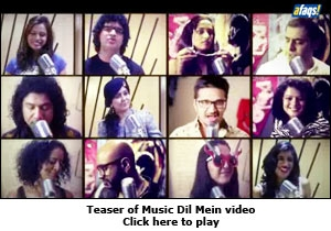 Teaser of Music Dil Mein video