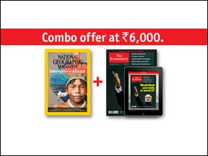 National Geographic and The Economist
