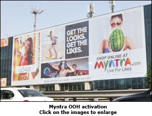 Myntra OOH activation