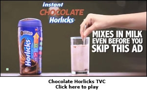 Chocolate Horlicks TVC