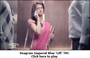 Seagram Imperial Blue 'Lift' TVC